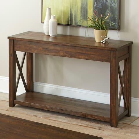 Luka Rustic Sofa Table by Greyson Living