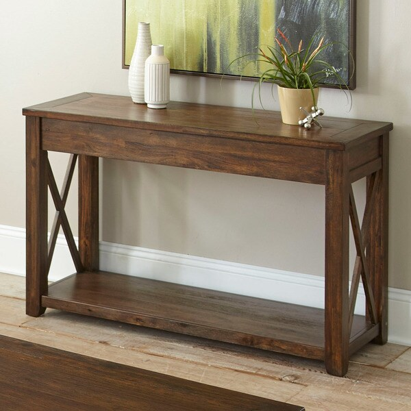 Rustic Sofa Tables For Sale: Shop Luka Rustic Sofa Table By Greyson Living