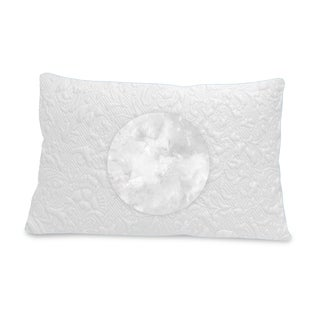 Luxury Cooling Soft Density Fiber Bed Pillow - White