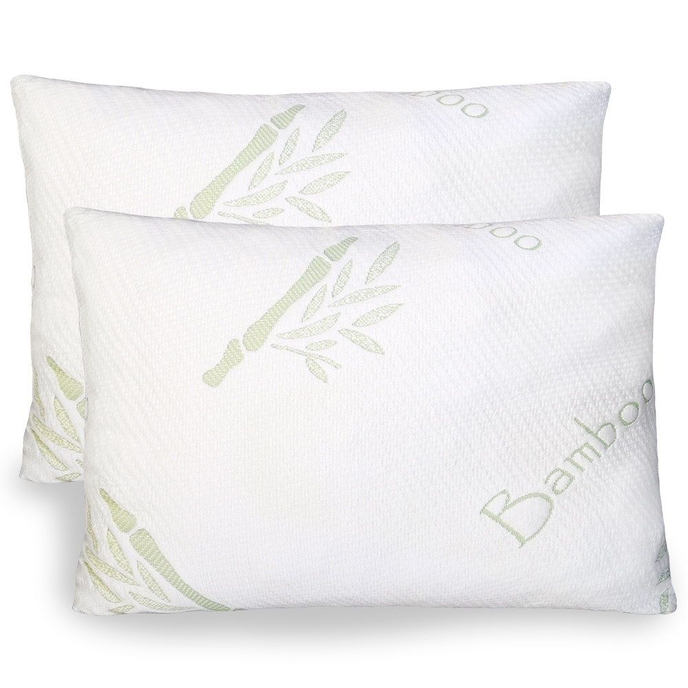 Shop Luxury Adjustable Shredded Memory Foam Pillow Removable