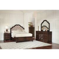 Ilana Traditional Antique Java Bed