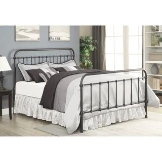 Livingston Transitional Dark Bronze Bed