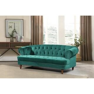 Walnut Chesterfield Sofa