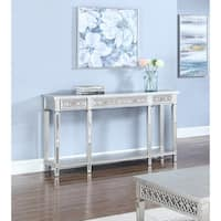 Best Master Furniture Silver Sofa Table