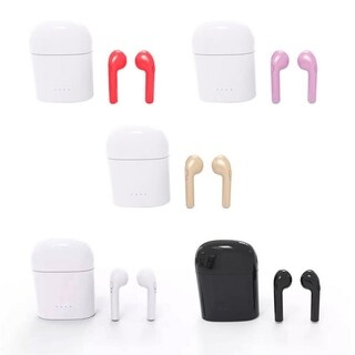 Bluetooth Wireless Ear Pods with Charging Case Lightweight Earbuds for any Device