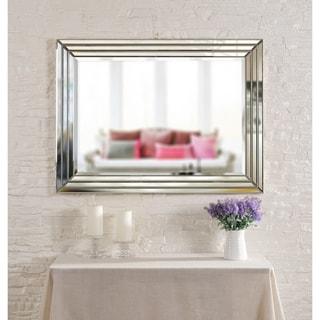 "Alayna 40"" Rectangular Beveled Wall Mirror"