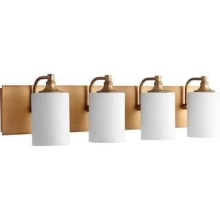 Celeste Aged Brass 4-light Vanity Lighting