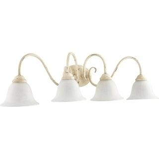 Spencer Persian White 4 Light Vanity Lighting Overstock 22085975