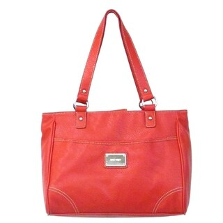 Nine West Saddle Tote in Red