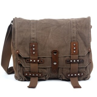 TSD Brand Deck Ash Canvas Messenger Bag