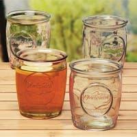 Yorkshire 4-Piece 14 Oz Whiskey Glasses Set