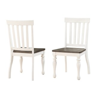 Jillian Farmhouse Two-Tone Side Chair by Greyson Living (Set of 2)