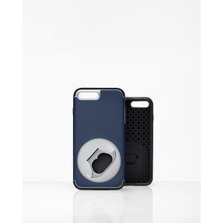 FlippinToad Flip & Hold Case Navy-iphone 7 plus & 8 plus
