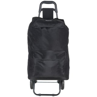 Kenneth Cole Reaction 2-Wheel Polyester Collapsible Compact Shopping Cart / Grocery Cart