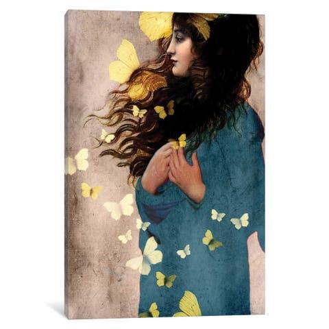 "iCanvas ""Bye Bye Butterfly"" by Catrin Welz-Stein Canvas Print"