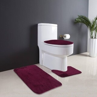 Non-Slip Floor Carpet 3 In 1 Bathroom Memory Foam Mat Rebound