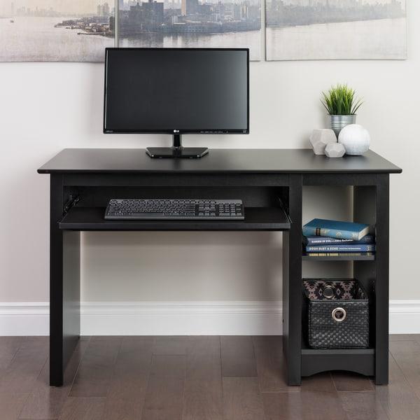 Broadway Black Computer Desk