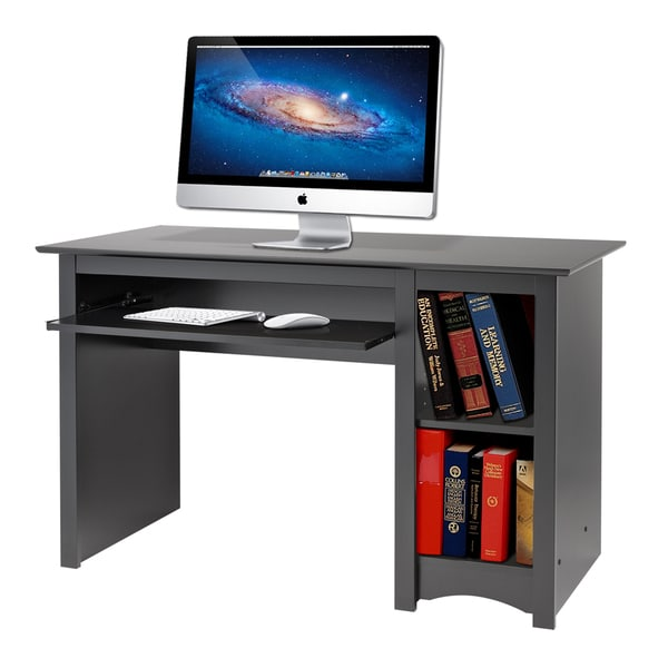 Broadway Black Computer Desk Free Shipping Today