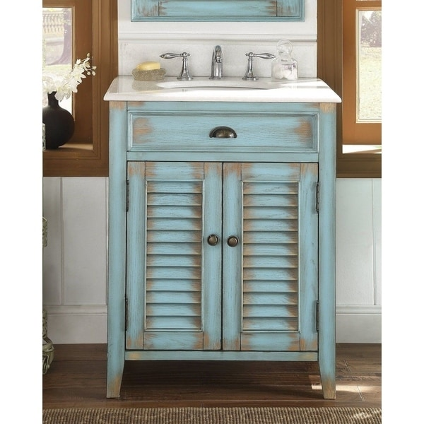 Shop Modetti Palm Beach 26 Inch Single Sink Bathroom Vanity With