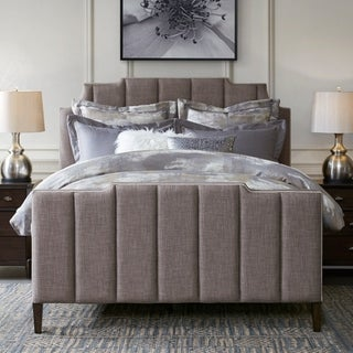 Madison Park Signature Wesley Dark Grey Queen Bed