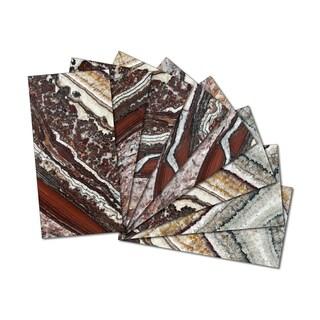 Custom Beveled Glass Wall Tiles / 7.8 sq.ft.
