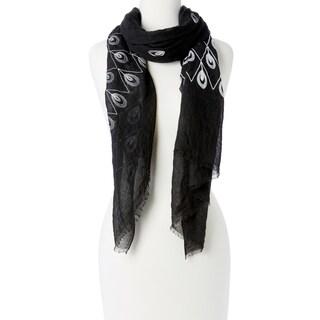 """Fashion Women Girl Chiffon Scarf Embroidered Silk Long Soft Scarf Shawl Scarves Wrap - 72"""" x 26"""""""