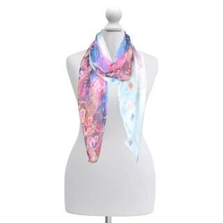 """Elegant Women Girl Chiffon Scarf Printed Silk Long Soft Scarf Shawl Scarves Wrap - 66"""" x 28"""""""