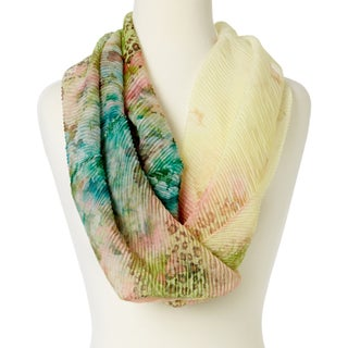 "Women Scarves Wraps Lightweight Silky Soft Stole Fashion Infinity Loop Scarfs - 24""x20"""