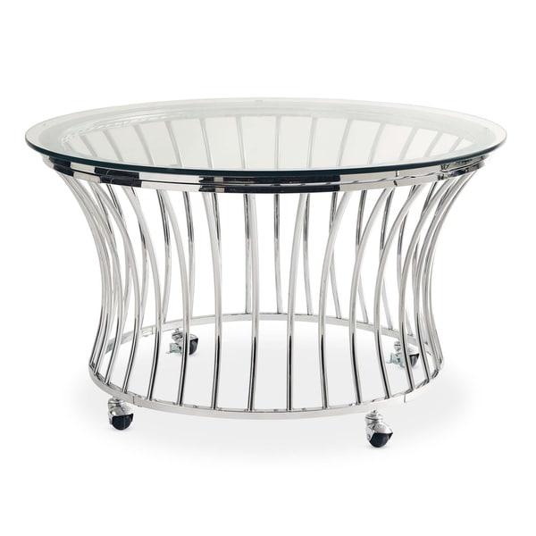 Picket House Furnishings Astoria Round Coffee Table