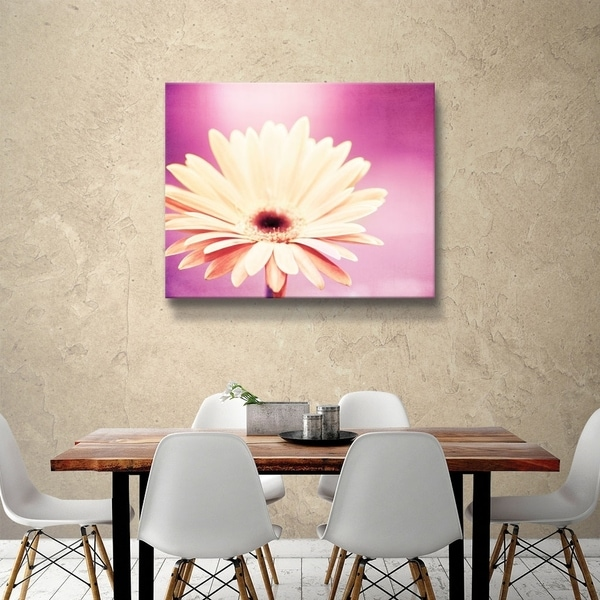 4f76f8d124 Shop ArtWall Peachy Keen Gallery Wrapped Canvas - On Sale - Free Shipping  Today - Overstock - 22092954