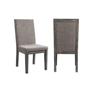 Picket House Furnishings Austin Grey Acacia Wood Side Chair (Set of 2)