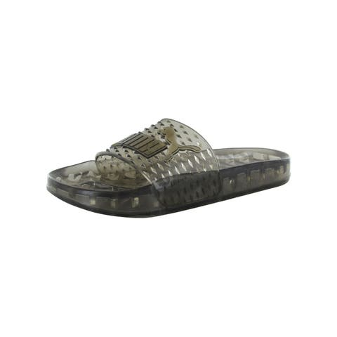 65a02ac92a08 Fenty Puma By Rihanna Womens Jelly Slide Sandals