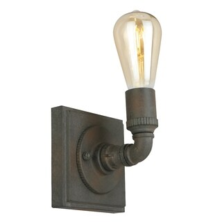 Eglo Wymer 1-Light Wall Light with Zinc Finish