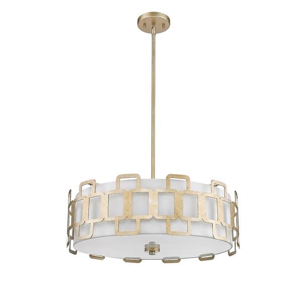 Shop Ove Decor Elizabeth Ii Led Silver Pendant Light Overstock 22096481