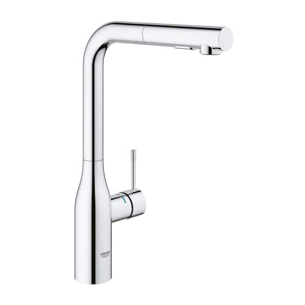 Shop Grohe Essence Single Handle Kitchen Faucet Overstock 22096527