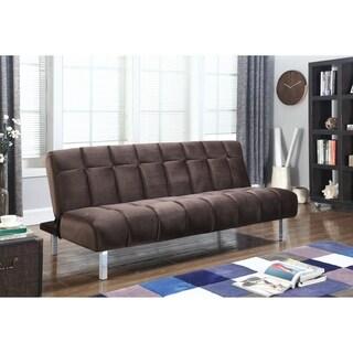 Contemporary Chrome Sofa Bed