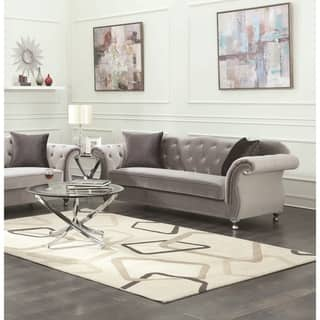 Outstanding Buy Silver Sofas Couches Online At Overstock Our Best Lamtechconsult Wood Chair Design Ideas Lamtechconsultcom