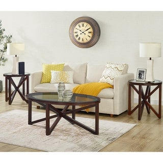 Picket House Furnishings Trinity 3PC Occasional Table Set