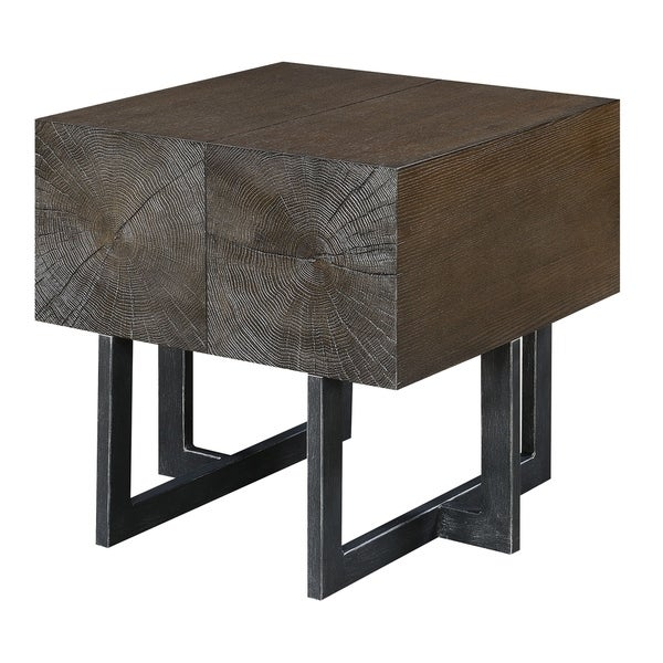 Picket House Furnishings Elliot Brown End Table