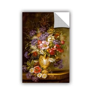 ArtWall Gilded Blossoms Removable Wall Art
