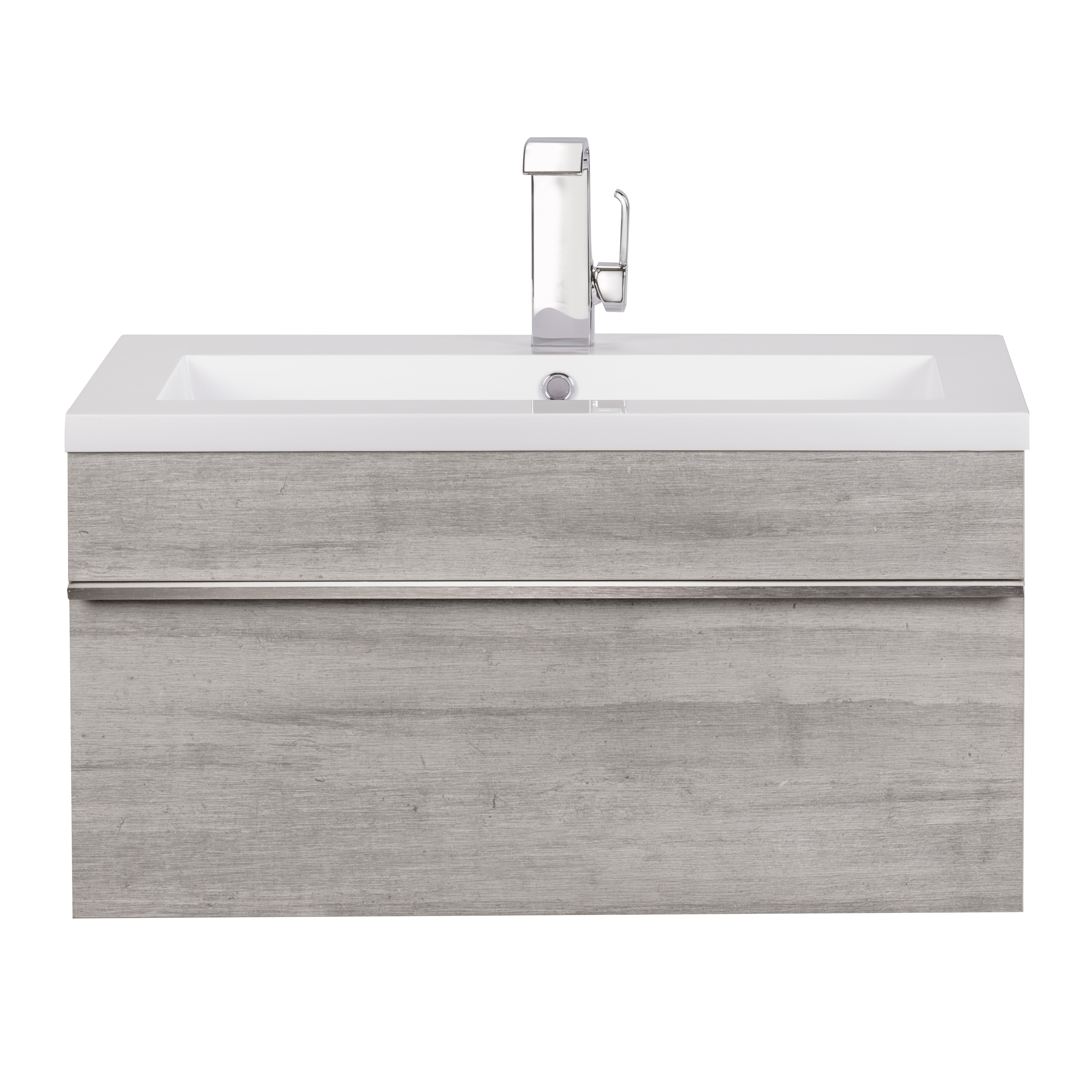Picture of: Shop Black Friday Deals On Trough Collection 42 Wall Mount Modern Bathroom Vanity Soho Overstock 22097647