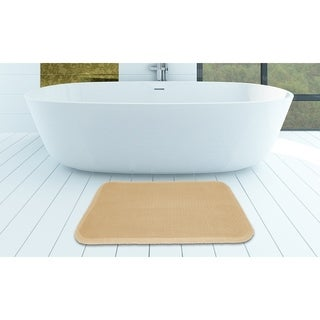 Super -Soft Memory Foam Bath Mat - 17x24