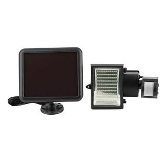 Solar Powered Panle Street Light Outdoor Motion Sensor Security Light (Pack of 2)