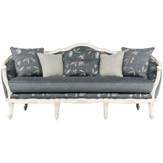 "Safavieh Couture Indigo Portledge Sofa - 82.5""w x 33.5""d x 39""h"