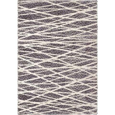 "Orian Rugs Bellwether Pressure Grey Area Rug (5'3"" x 7'6"") - 5'3"" x 7'6"""