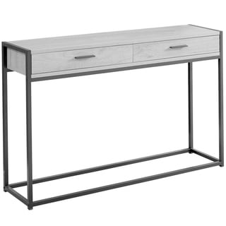 "Accent Table - 48""L  Metal Hall Console"
