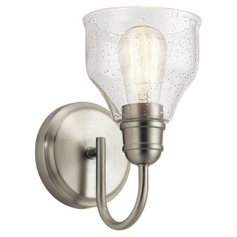 Copper Grove Clendinning 1-light Brushed Nickel Wall Sconce