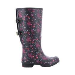 Women's Chooka Versa Zuri Wide Rain Boot Black