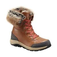 Women's Columbia Bangor Omni-HEAT Hiking Boot Elk/Rusty Full Grain Leather