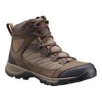 Men's Columbia Cascade Pass Waterproof Hiking Boot Major/Bright Copper
